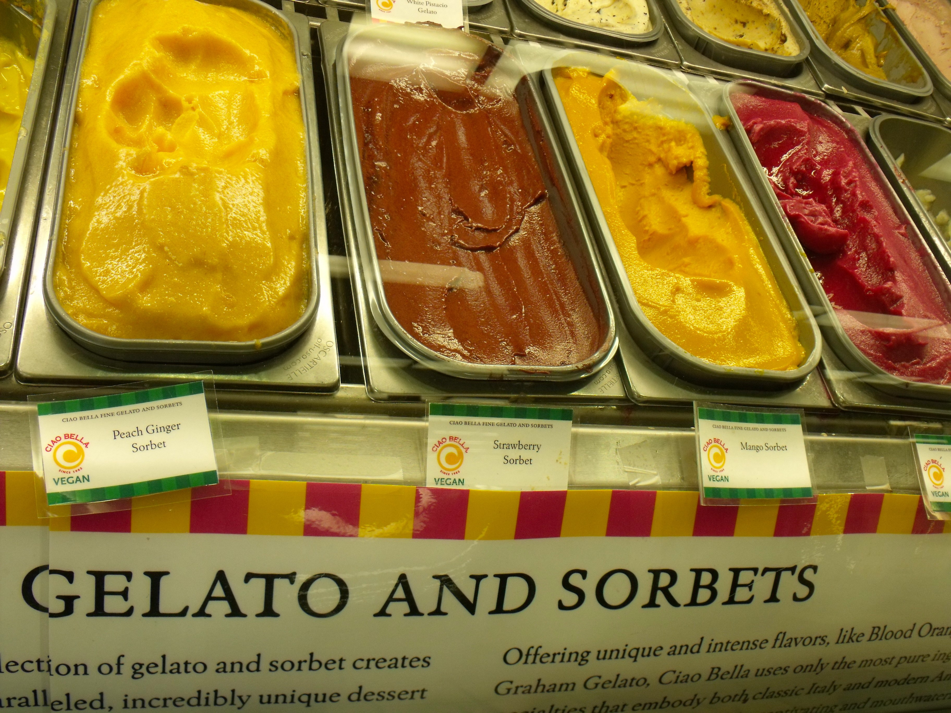 Gelato Bars At Whole Foods