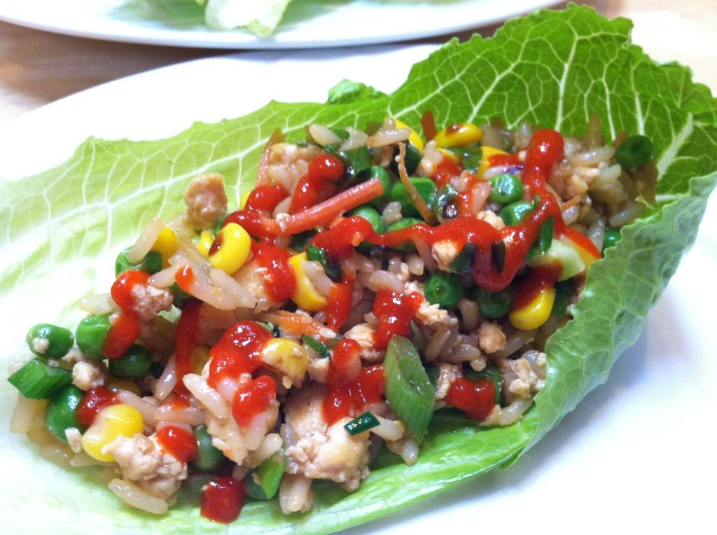 Vegan lettuce wraps | Vegan | Pinterest