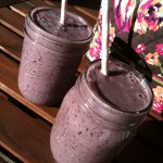 chia flax fruit smoothie