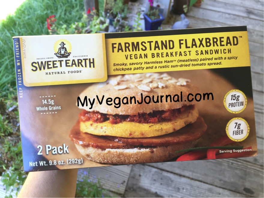 vegan breakfast sandwich