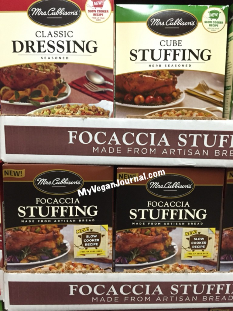 vegan stuffing ideas