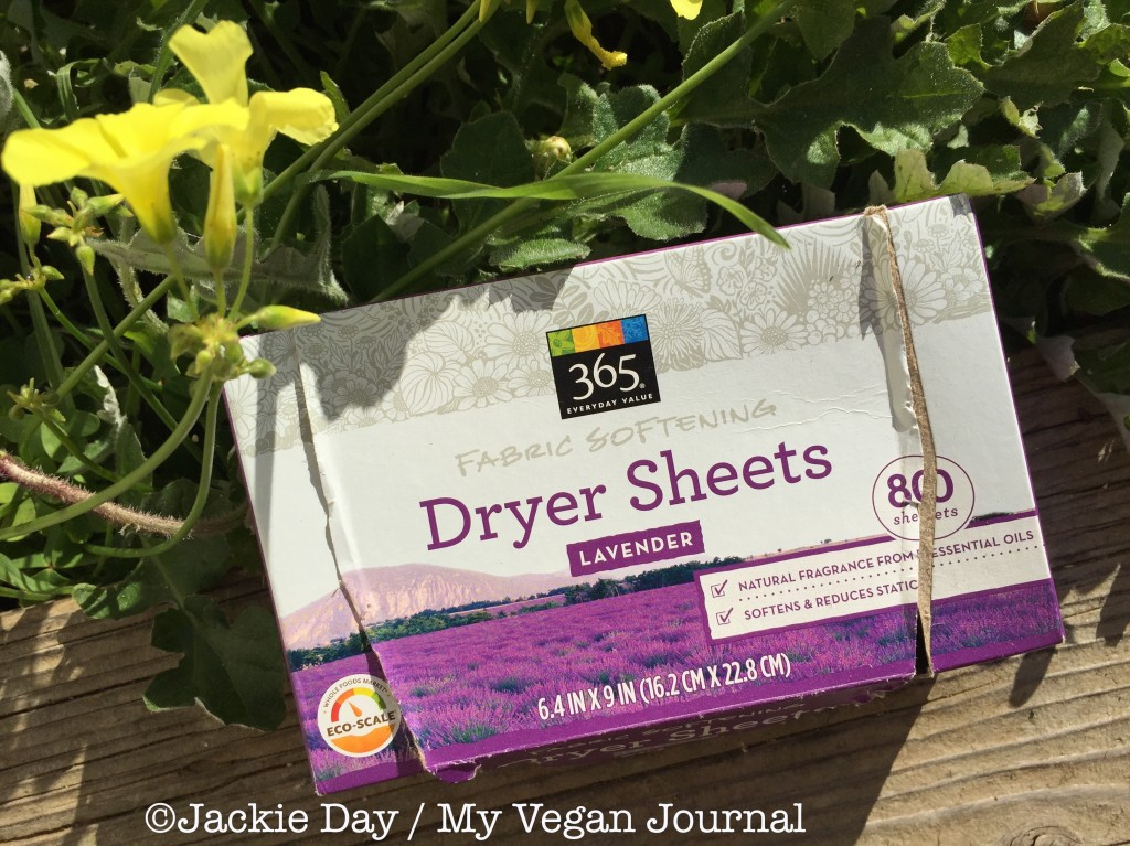 vegan dryer sheets