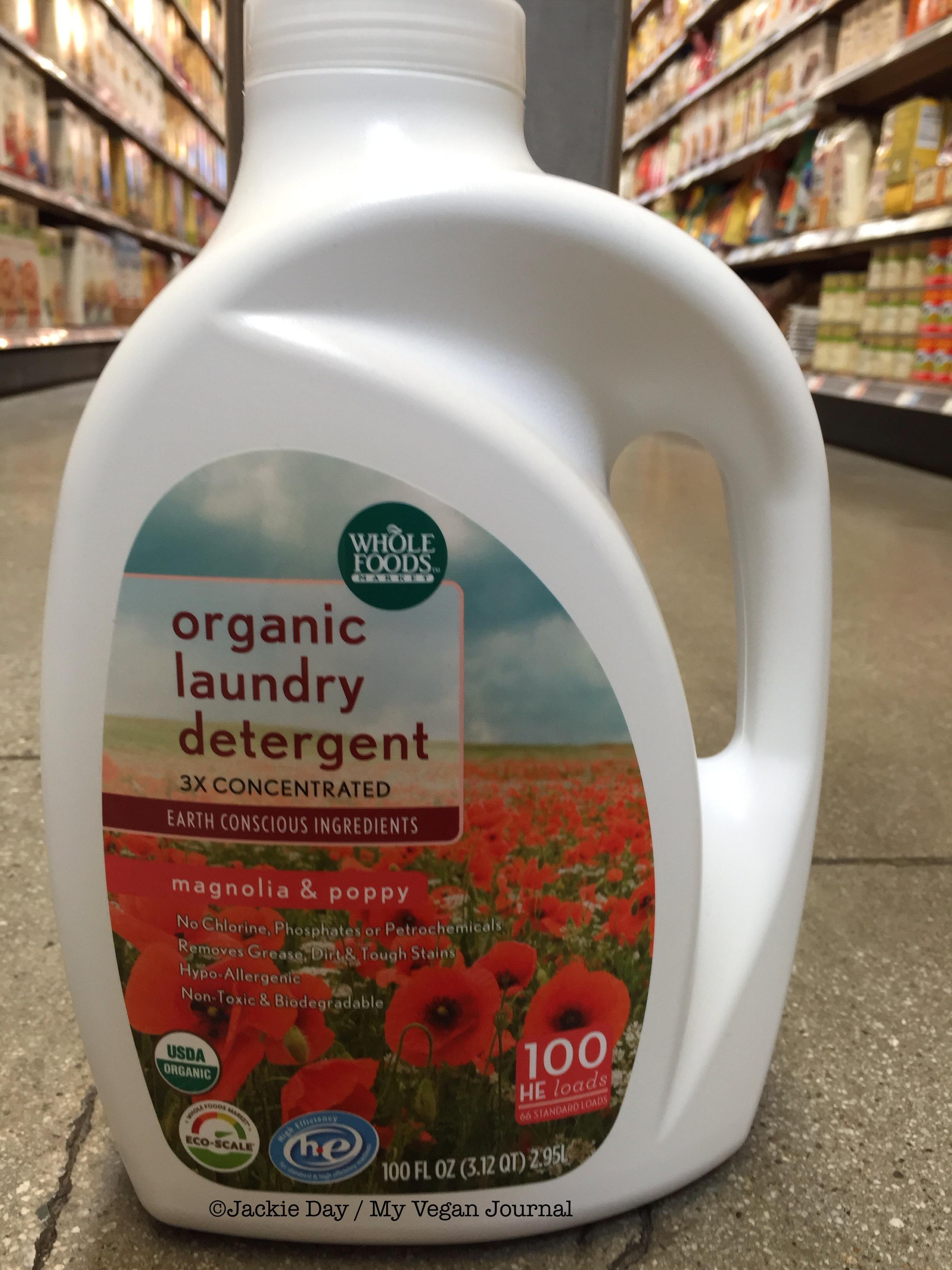 vegan laundry detergent whole foods market