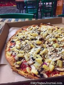 Vegan Pizza California