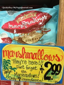 trader joe's vegan marshmallows
