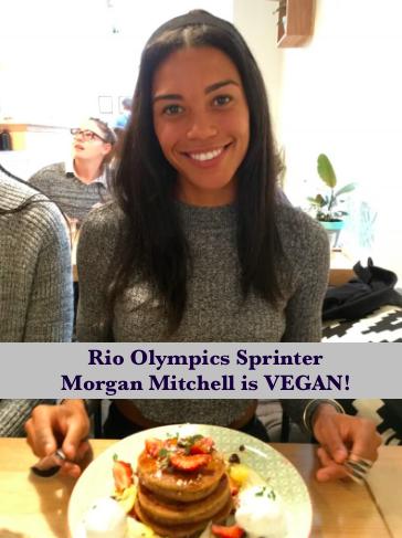 Vegan Sprinter Morgan Mitchell