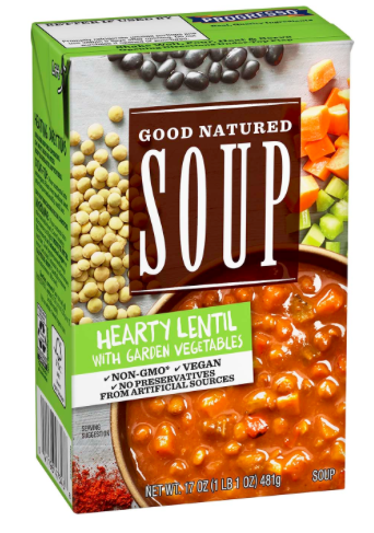 Soups On! Consumer Demand Pushes Progresso To Make Vegan Soup!