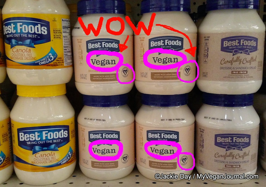 best foods vegan mayo