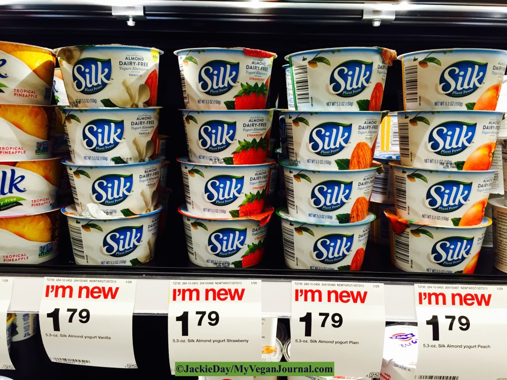 silk vegan yogurt
