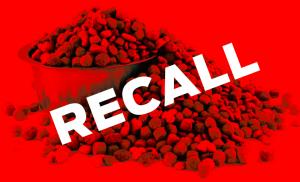dog food recall alert