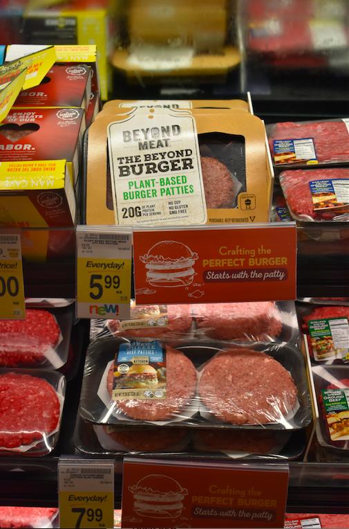 beyond meat in safeway