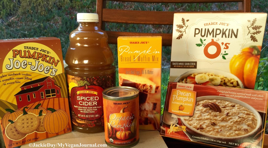 Trader Joe's Vegan Fall Food
