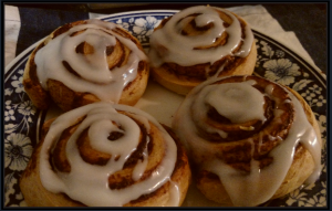 cinnamon rolls at midnight