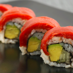 Plant-Based Sushi Made From Tomatoes