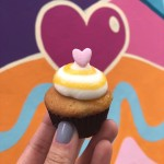 vegan passion fruit cupcake