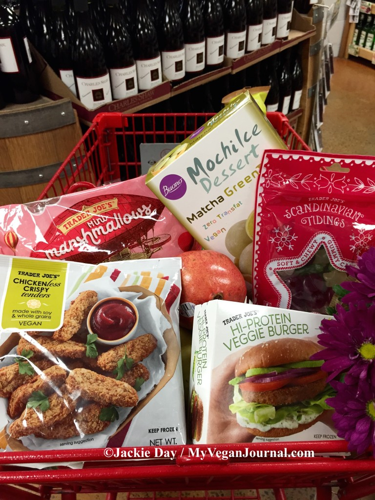 New Vegan Food At Trader Joe's For The Holidays!