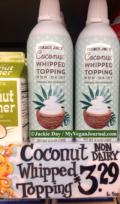 trader joe's coconut whipped topping