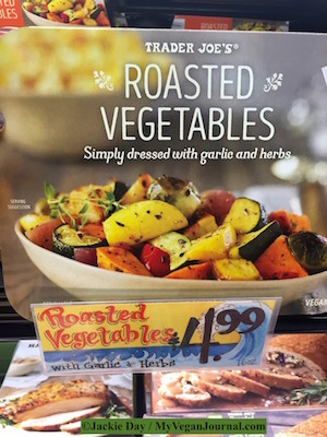 trader joe's roasted vegetables