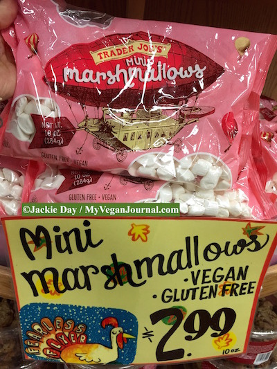 vegan marshmallows trader joe's